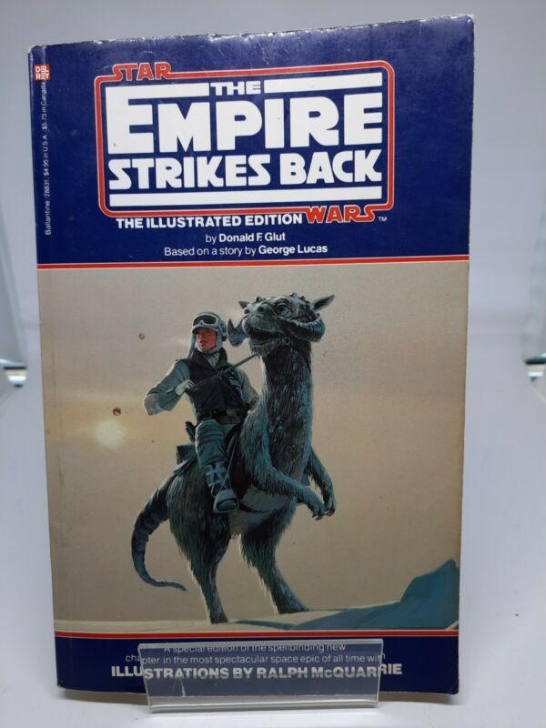 STAR WARS THE EMPIRE STRIKES BACK TRADE PB DONALD F. GLUT RALPH MCQUARRIE (1980)