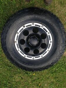 Nitto all terrain tires and rims