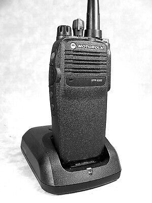 Mint Motorola Xpr6300 Vhf Mototrbo Portable Radio Waccessories