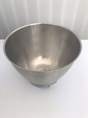 KENWOOD CHEF STAINLESS STEEL MIXING BOWL - @LOOK!@
