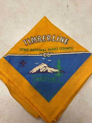 Camp Timberline Neckerchief - Utah National Parks Council