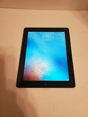 "*Apple iPad 2 A1395 EMC: 2415 16GB WiFi * 9.7"" (Black) (MC996LL/A)*L@@K*Restored"