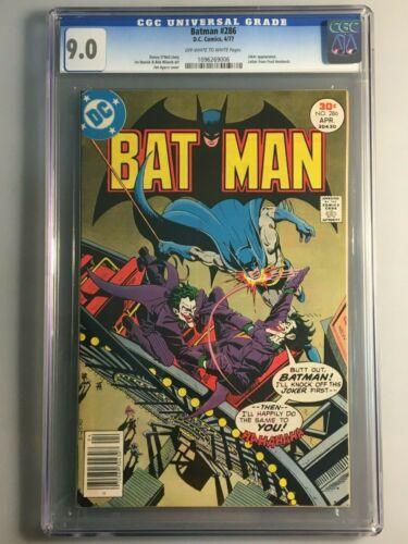 Batman 286 - CGC 9.0 - Joker Cover Appearance
