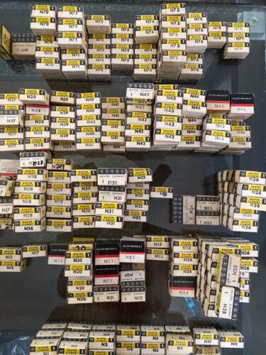 Allen Bradley Type N Thermal Overload Heater Elements, N1-N79