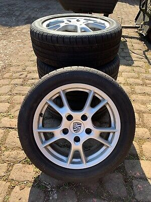 """Porsche Boxster 987 17"""" Alloy Wheels With Tyres Set Of 4"""