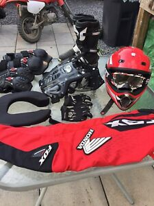 Junior Motocross or ATV equipment