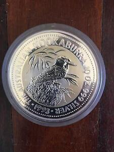 Kookaburra 10 oz Silver coin 1993 Kalamunda Kalamunda Area Preview