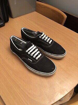 Vans Black And White UK 10.5