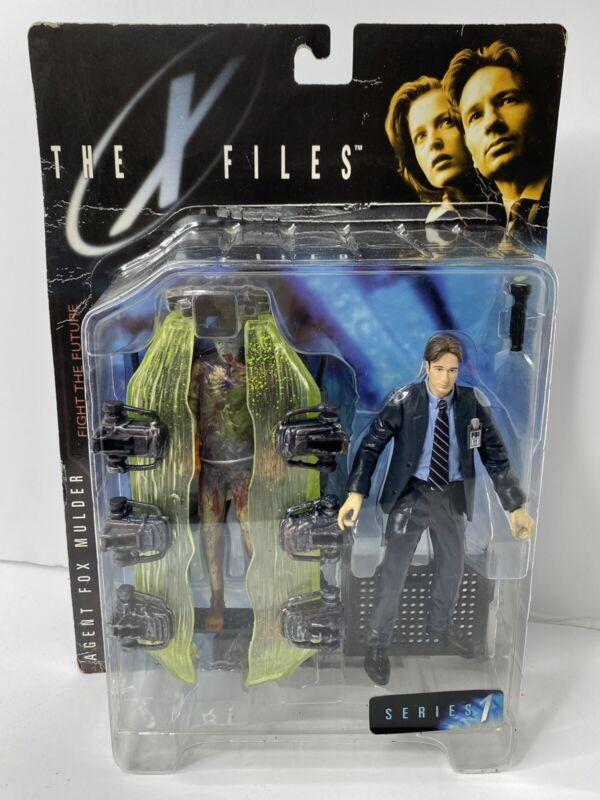 The X Files Agent Fox Mulder Series 1 1998 Action Figure McFarlane Toys NIB