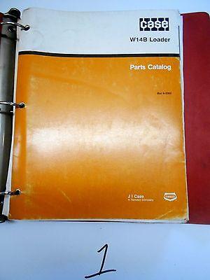 Case W14B Loader Parts Catalog  8-2362