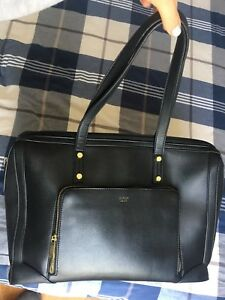 Laptop/shoulder/business black bag