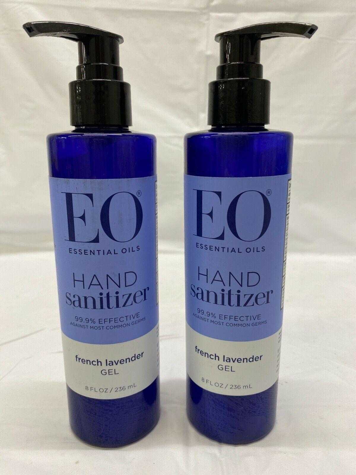 Eo Products Hand Sanitizing Gel Lavender Essential Oil 8 Fl