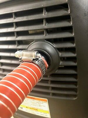 """Honda EU2200i Generator 1"""" silicone exhaust extension (8 foot) for sale  Shipping to India"""