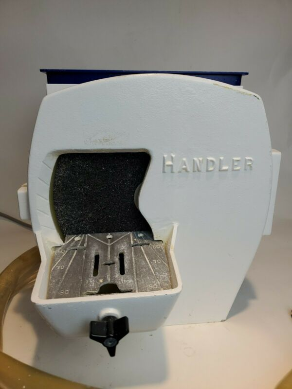 Red Wing Handler Model No. 31 Dental Lab Wet Model Trimmer Wheel Grinder W/ Tray