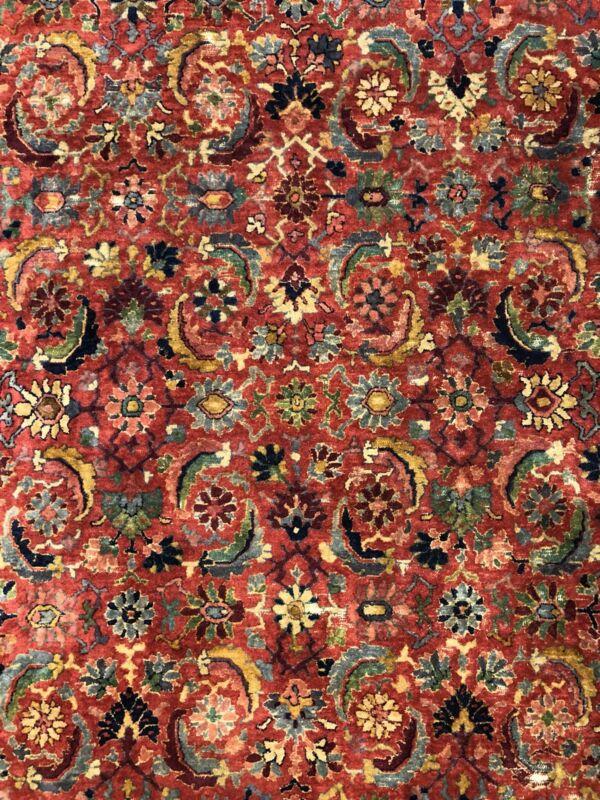 Tremendous Tetex - 1930s Antique German Rug - Hooked Carpet - 8.10 X 14.10 Ft.