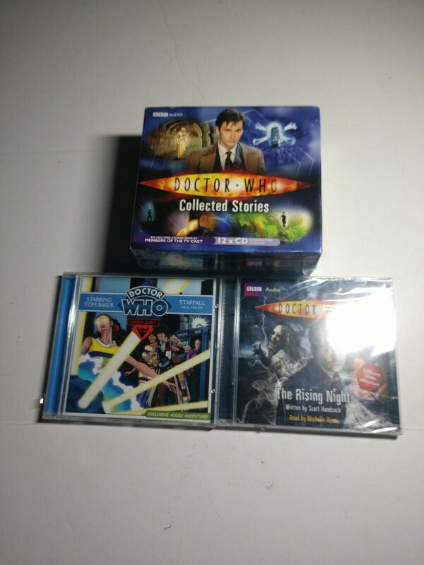 NEW Doctor Who BBC CD Set LOT collected stories ++