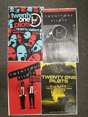 Twenty One Pilots 11x17 promo tour concert poster shirt lp tickets