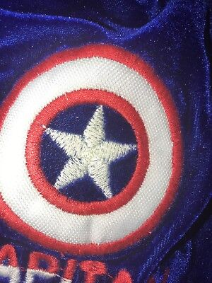 captain america costume For Small Dog Or Cat](Captain America Dog Costume)