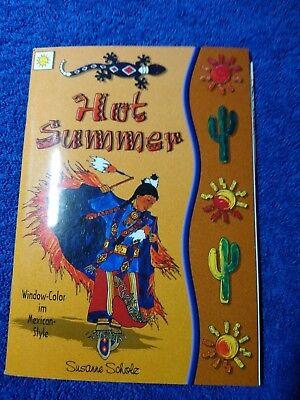 Bastelbuch Window Color Hot Summer, tolle Indianer/Western Motive,