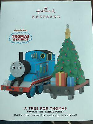 HALLMARK Keepsake A TREE FOR THOMAS The Train Tank Engine CHRISTMAS ORNAMENT SET