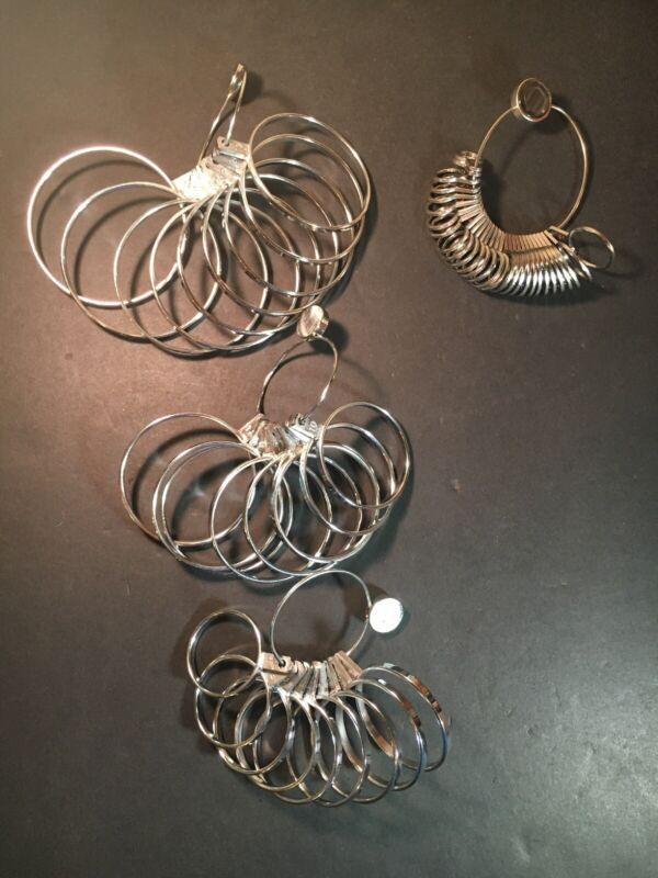 Bangle Bracelet Sizers Size 1-27 And Flat Finger Gauge Ring Sizer