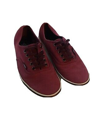 vans size 9 Us Mens Red
