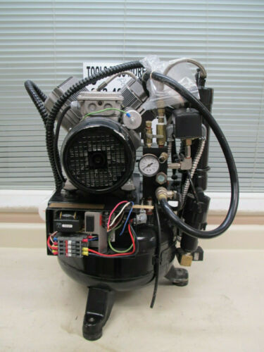 Matrx OL-2000 220VAC 1.6HP 5 Gallon Dental Air Compressor Tested Used