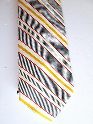 1960s – 70s Men's Ties | Skinny Ties, Slim Ties Vintage 1960s Mens Silk Tie 4