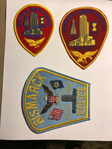 Bismarck North Dakota Police Department Patches
