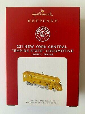 "2021 Hallmark 221 New York Central ""Empire State"" Locomotive (Limited Edition)"