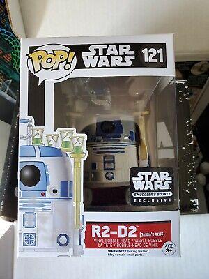 Funko Pop! R2-D2 Jabba's Smugglers Bounty Star Wars Complete Box