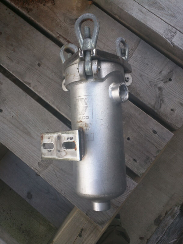 """1"""" Graco Stainless Steel Simplex Strainers w/NPT Connections"""