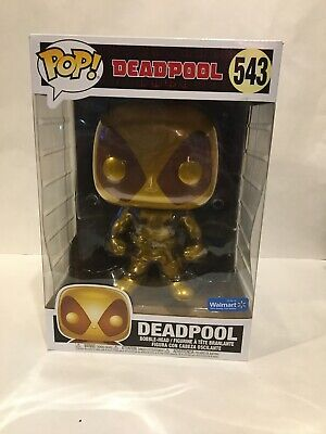 Deadpool 10 inch Funko Gold Walmart Exclusive #543