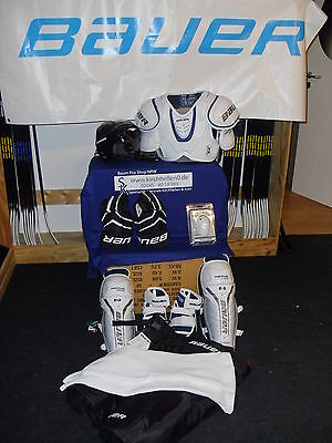 9 tlg.Komplettset Eishockey Bauer-CCM-RBK-Warrior-Easton Senior L ca. 174-185cm - Rbk Hockey