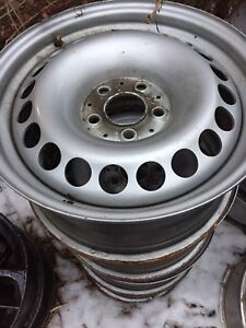 4 steel Rims 16 inch 5 x112 off Mercedes