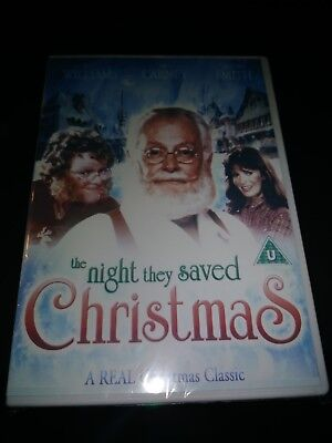 The Night They Saved Christmas DVD) JACKLYN SMITH, SEALED