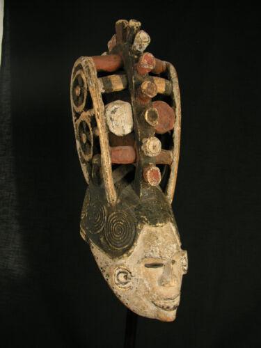 OLD WONDERFUL MAIDEN SPIRIT MASK, IGBO, AFRICAN