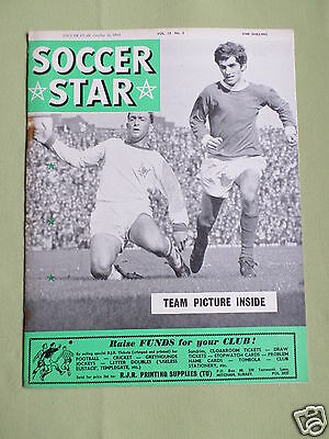 SOCCER STAR- UK FOOTBALL MAGAZINE- 16 OCT 1964 - GEORGE BEST - ROTHERHAM (Best Football Magazine Uk)
