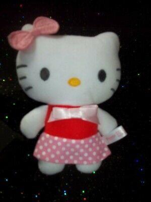 Süße kleine Hello Kitty Stofftier Plüsch Katze