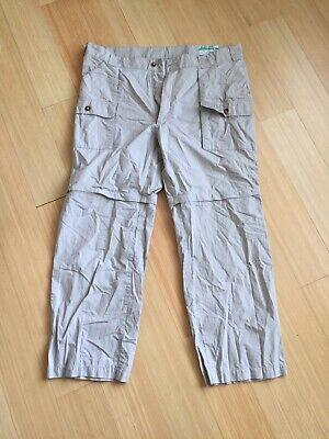 d95d1ca1c8d1d Orvis BUZZ OFF Insect Shield Repellent Mens Cargo Pants / Shorts sz 40 (A)