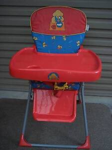 high chair and curtains with hooks -can deliver Hope Valley Tea Tree Gully Area Preview