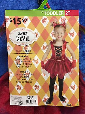 Sweet Devil Toddler Costume