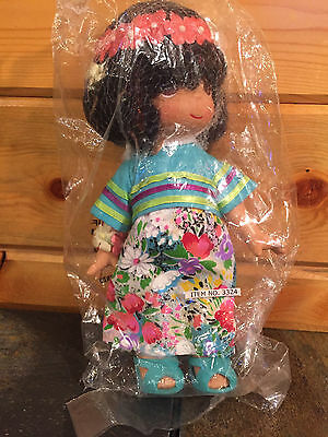 """NEW Precious Moments Children of The World """"KAKALA - FIGI"""" Doll 7"""", #3324, 2006"""