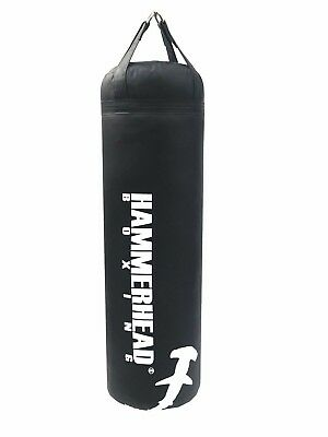 Muay Thai Punching Kick Heavy Bag 6ft 150lbs . FILLED