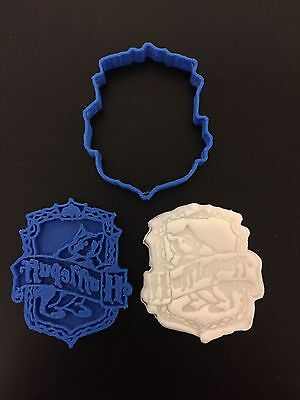 Hufflepuff badge Harry potter Biscuit Cookie Cutter Fondant Cake Decorating Mold