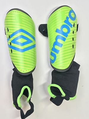 Youth Umbro Arturo Soccer Shin Guards Green NEW SMALL R-495 572efe2914b28