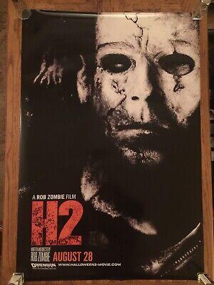 HALLOWEEN 2 (2009) Poster DS 27x40 ORIGINAL Rare ROB ZOMBIE](Rob Zombie Halloween 2 Poster)