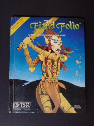 Advanced D&D Fiend Folio [December, 1981]. ISBN 0935696210, TSR 2012