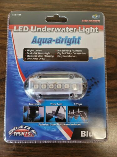 LED Blue Underwater Lights