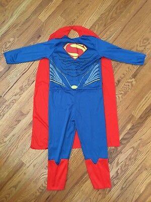 Superman Costume, Boys Size Medium roughly 36-42